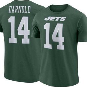 NIKE Sam Darnold New York Jets Jersey T-Shirt